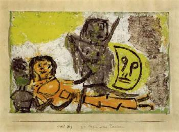 Beginning of a celebration by PAUL KLEE