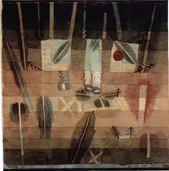 Physiognomy of planting by PAUL KLEE
