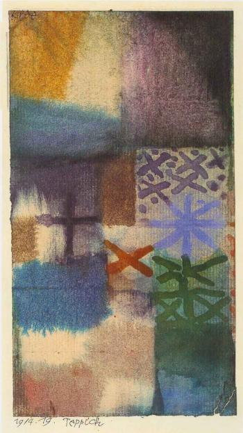 Teppich - Carpet by PAUL KLEE