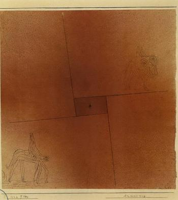 Anmassung - arrogance by PAUL KLEE