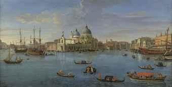 View of the Bacino di San Marco, Venice, from the Grand Canal by 