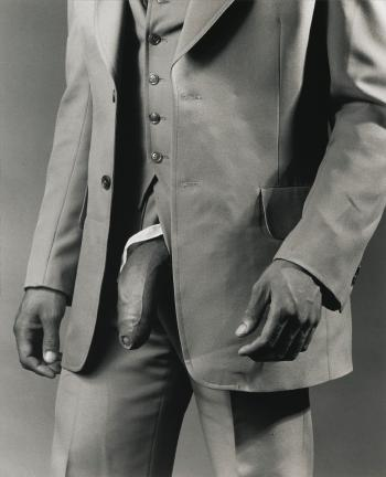 Man In A Polyester Suit By Robert Mapplethorpe Blouin