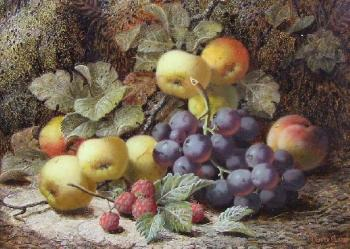 Still life of fruit by OLIVER CLARE