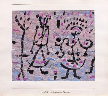 Winterliche Masken by PAUL KLEE