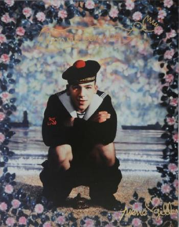 le marin qui chie by pierre et gilles blouin art sales index. Black Bedroom Furniture Sets. Home Design Ideas