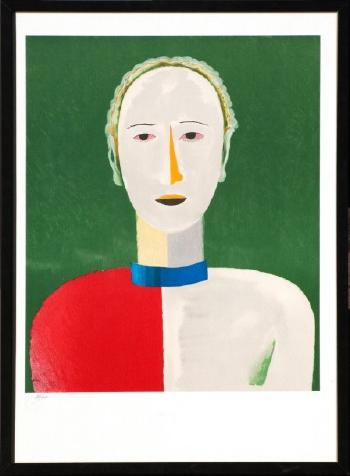 Personnage by KAZIMIR MALEVICH