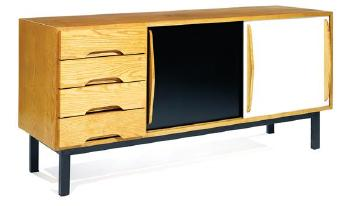meuble de rangement cansado by charlotte perriand blouin art sales index. Black Bedroom Furniture Sets. Home Design Ideas