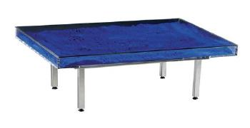 Table bleue by yves klein blouin art sales index for Table yves klein