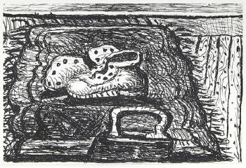Rug (G. 876), 1979-81 by PHILIP GUSTON