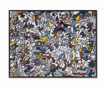 Être et paraître (To Be and to Seem) by JEAN DUBUFFET