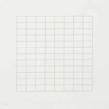 One fine day by AGNES MARTIN