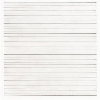 Stedleijk No. 9 from the series Agnes Martin: Paintings and Drawings by AGNES MARTIN