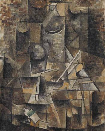 Le Gu�ridon by GEORGES BRAQUE