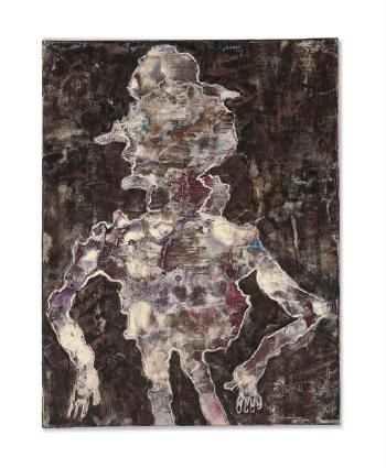 Le Truand by JEAN DUBUFFET
