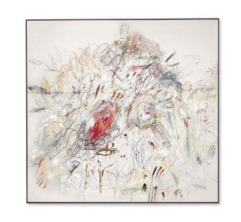 Leda and the Swan by CY TWOMBLY
