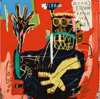 Untitled (Ernok) by JEAN-MICHEL BASQUIAT