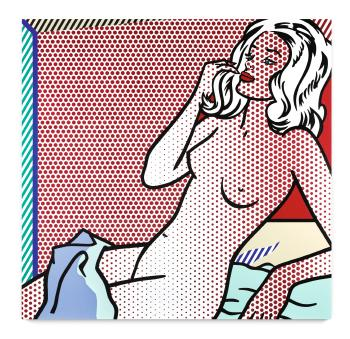 Nude Sunbathing by ROY LICHTENSTEIN