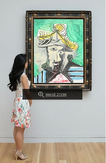 T�te D'homme by PABLO PICASSO