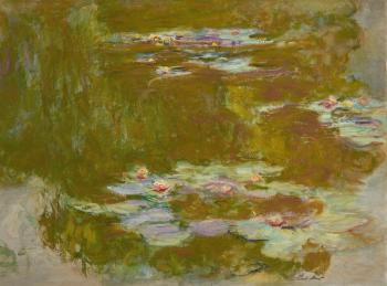 Le Bassin Aux Nymph�as by CLAUDE MONET