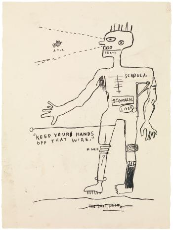 Wire by JEAN-MICHEL BASQUIAT