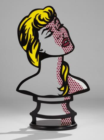 Woman: Sunlight, Moonlight by ROY LICHTENSTEIN