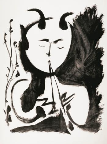 Faune Musicien no 4 by PABLO PICASSO