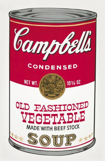 Old fashioned vegetable by ANDY WARHOL