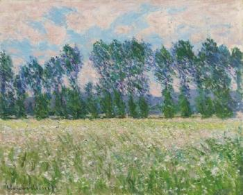 Prairie à Giverny by CLAUDE MONET