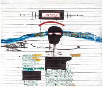 Jim Crow by JEAN-MICHEL BASQUIAT