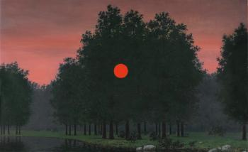Le banquet by RENE MAGRITTE