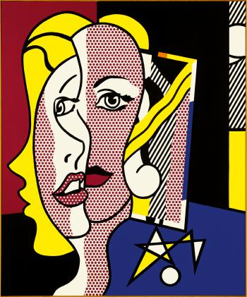 Female Head by ROY LICHTENSTEIN