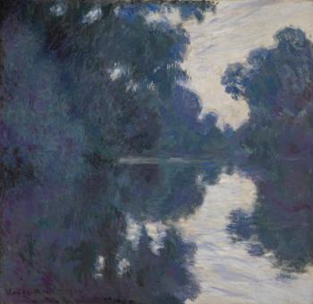 Matinee Sur La Seine by CLAUDE MONET
