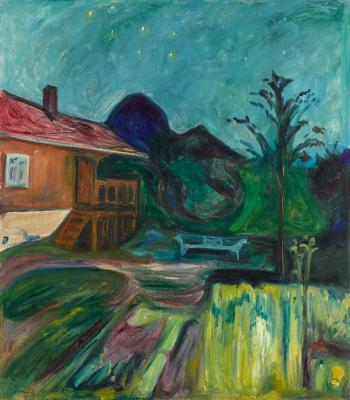 Sommernatt (summer night) by EDVARD MUNCH