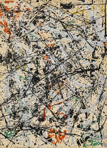 Number 32, 1949 by JACKSON POLLOCK