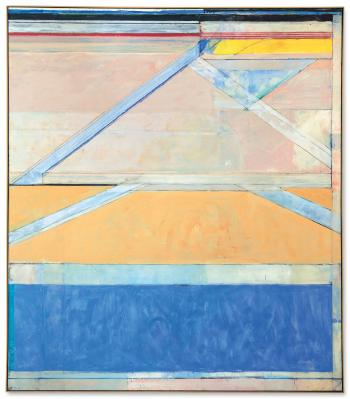 Ocean Park #126 by RICHARD DIEBENKORN