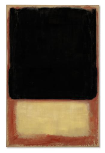 No. 7 (Dark Over Light) by MARK ROTHKO