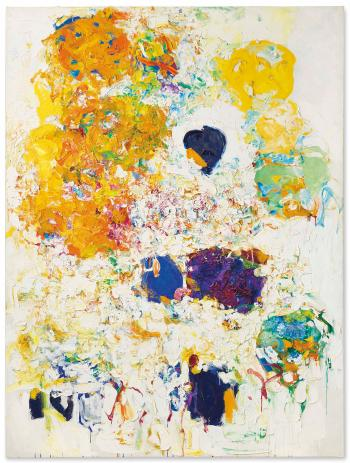 Blueberry by JOAN MITCHELL