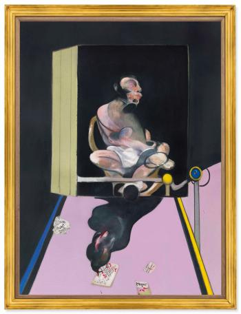 Study For Portrait by FRANCIS BACON