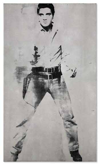 Double Elvis [Ferus Type] by ANDY WARHOL