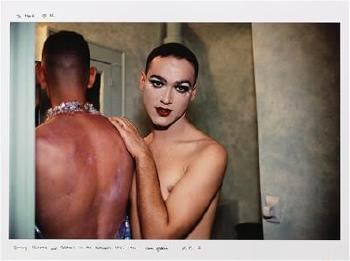 nan goldin paris