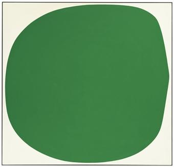 Green White by ELLSWORTH KELLY