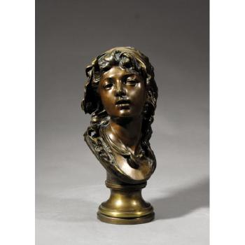 Suzon by  Auguste Rodin