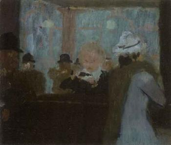 cafe interieur by victor pasmore