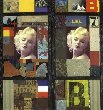 Marilyn Monroe Merz Screen ABC and ABC by PETER BLAKE