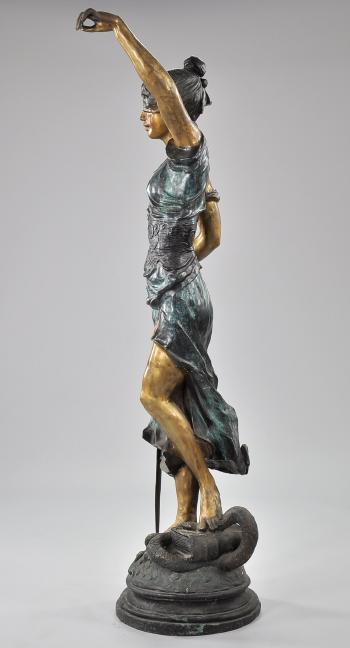 Themis, blind justice by Alois Mayer | Blouin Art Sales Index