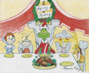 Roast Beast, How the Grinch Stole Christmas by Thomas Raylich