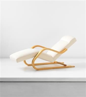 Cantilevered Chaise Longue Model No 39 By Alvar Aalto