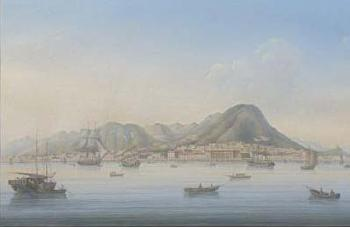 Le Port De Hong Kong By Marciano Antonio Baptista Blouin Art Sales