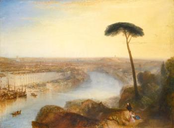 Rome, From Mount Aventine by  Joseph Mallord William Turner