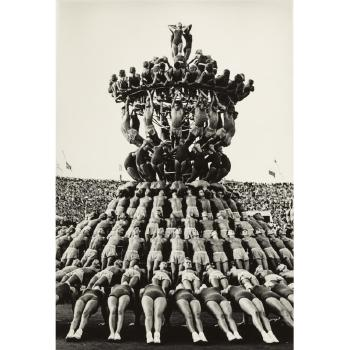 The Human Pyramid by Lev Borodulin | Blouin Art Sales Index